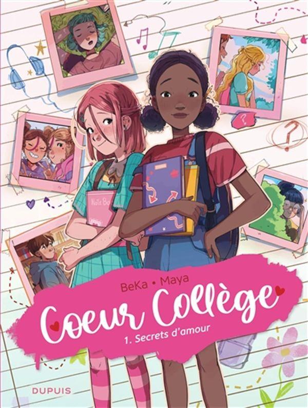 Coeur Collège 01 : Secrets d'amour