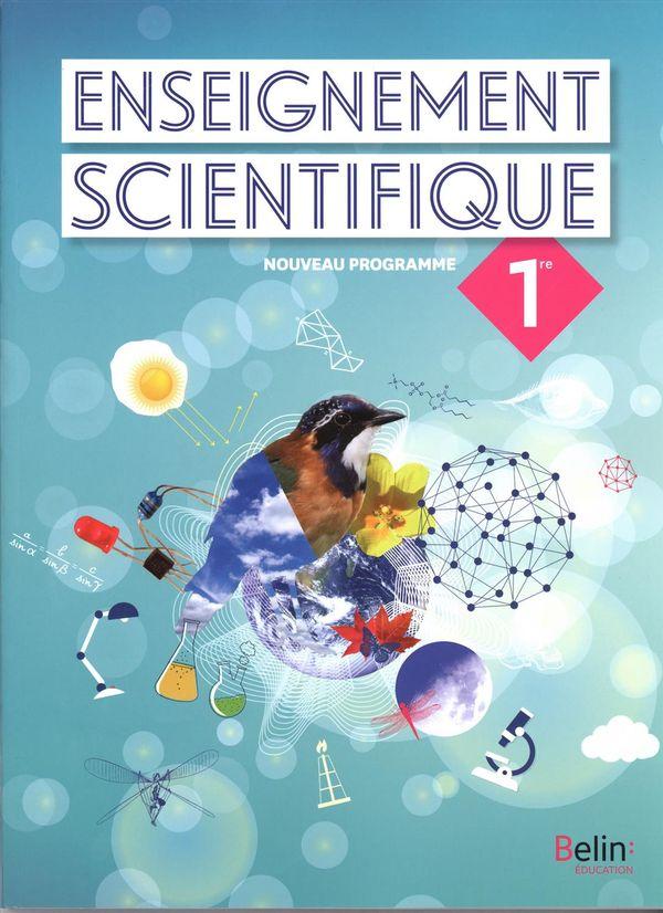 Enseignement scientifique 1re - Nouveau programme