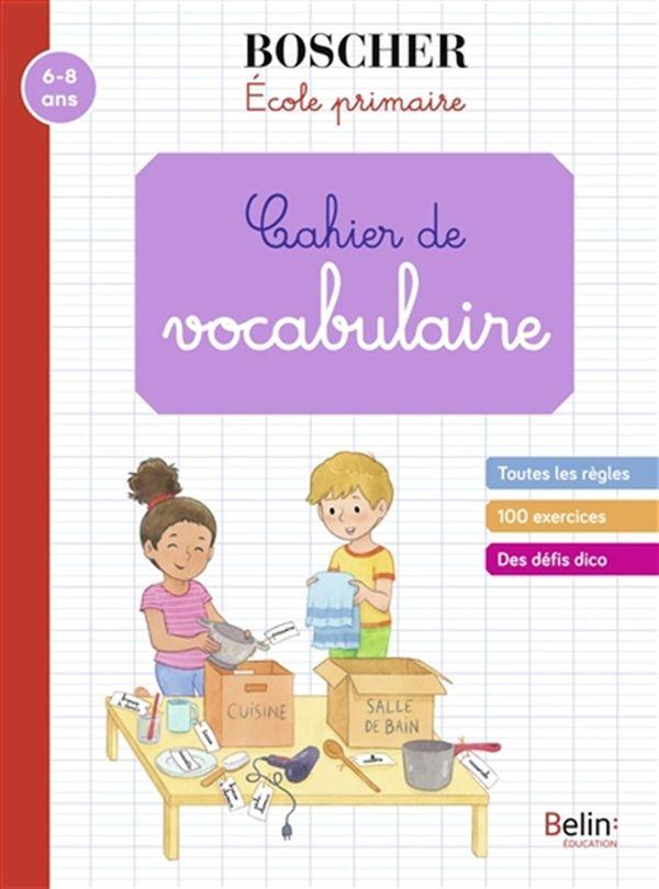 Cahier de vocabulaire