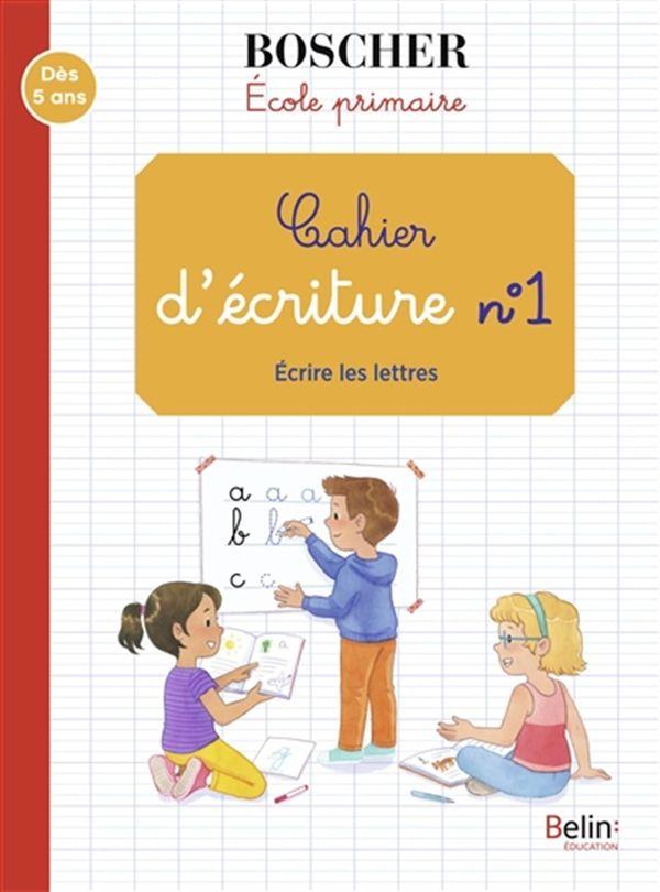 Cahier d'écriture 01  Ecrire les lettres N.E.
