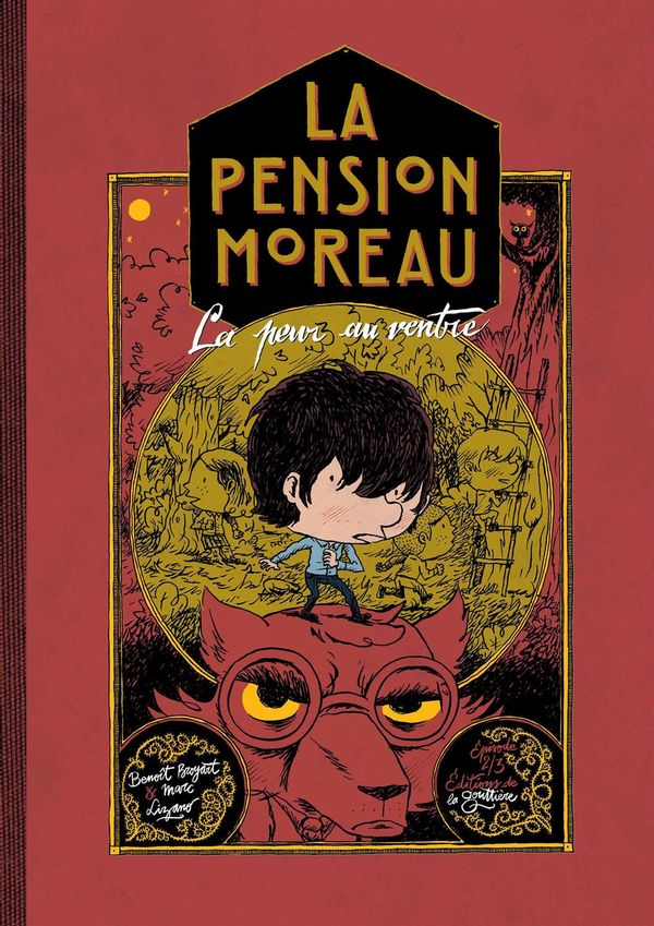 La pension Moreau 02 : La peur au ventre