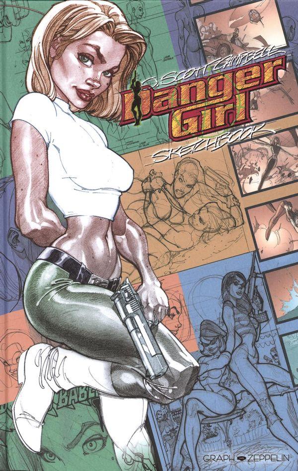 Danger girl : Sketchbook