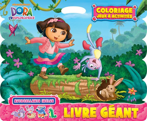 Dora coloriage jeux activit s distribution prologue - Jeux de dessin dora ...