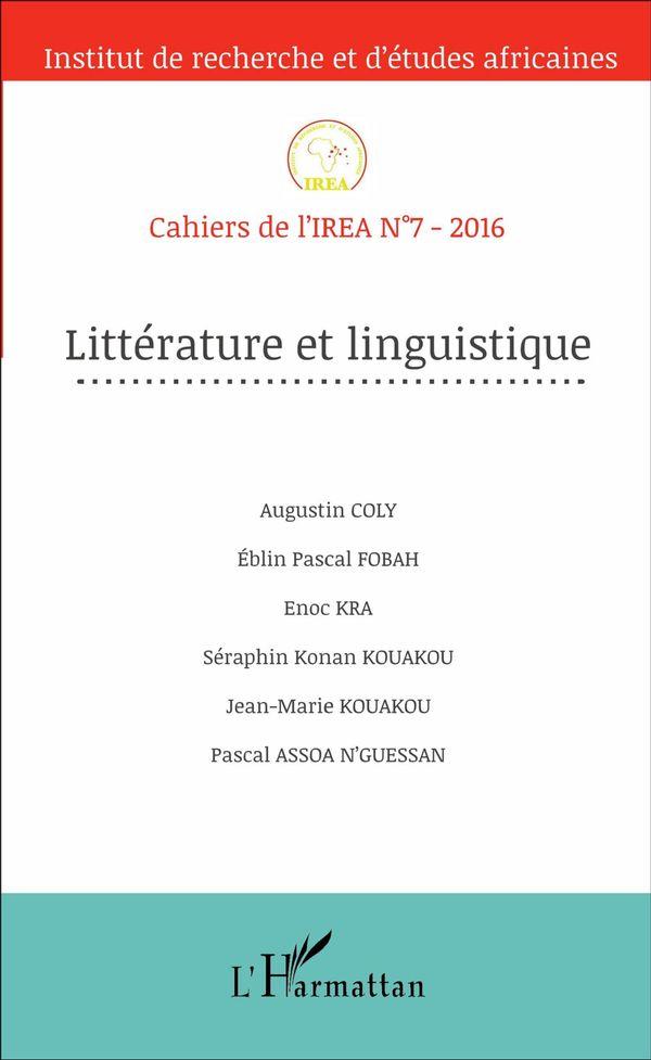 Littérature et linguistique