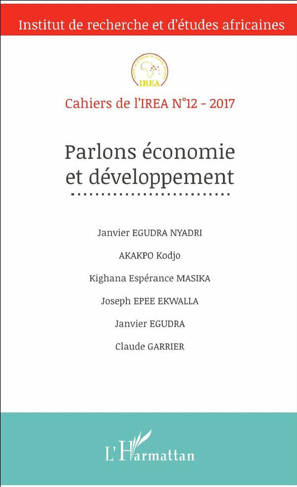 Parlons économie et développement