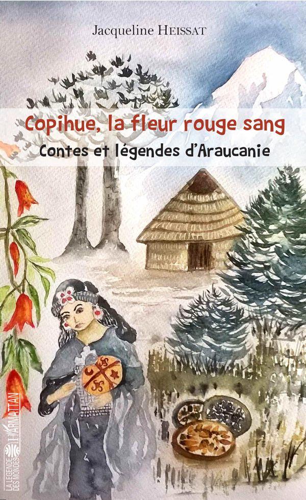 Copihue, la fleur rouge sang
