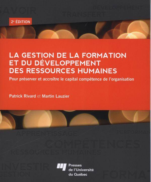 Gestion de la formation et du développement des ressources