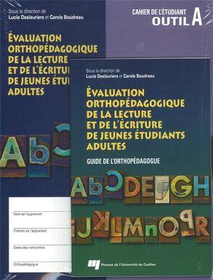 Évaluation orthopédagogique de la lecture et de l'écriture
