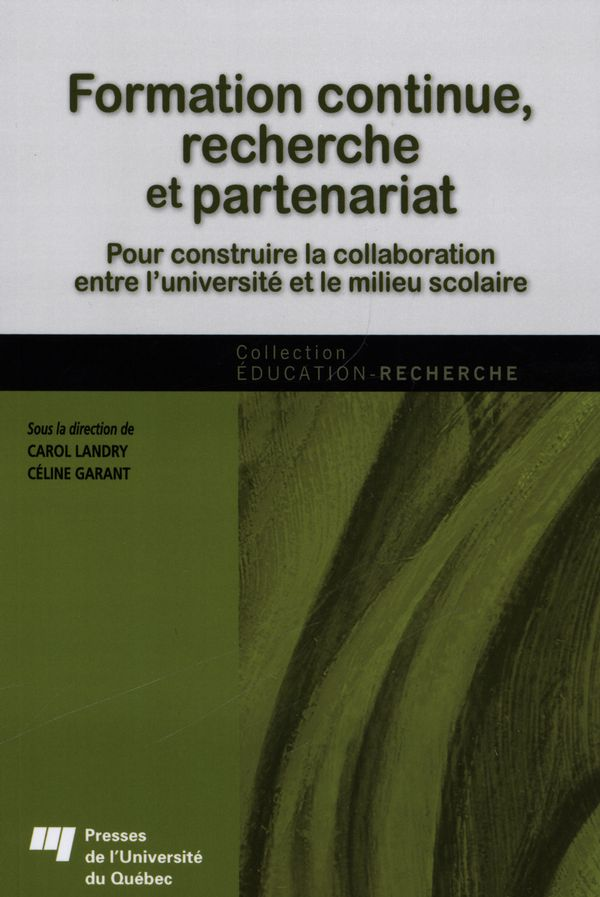 Formation continue, recherche et partenariat