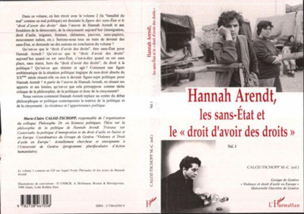 Hannah Arendt, les Sans-Etat et le