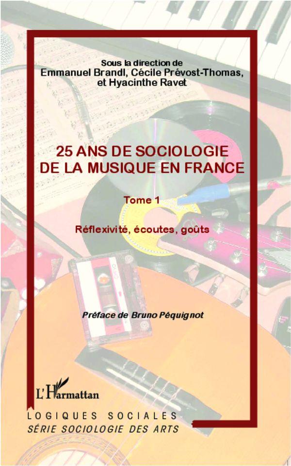 25 ans de sociologie de lamusique en France  1