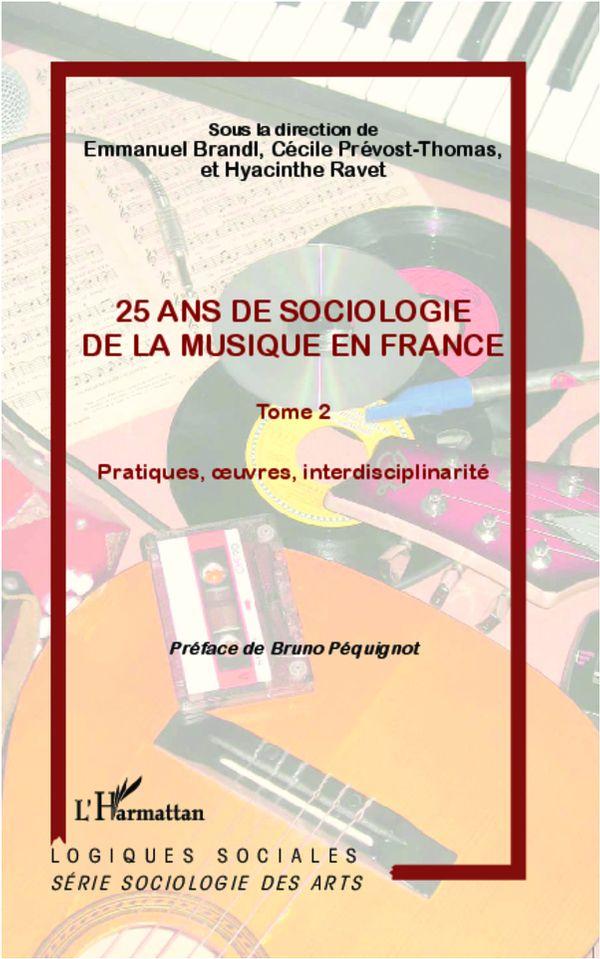 25 ans de sociologie de la musique en France  2