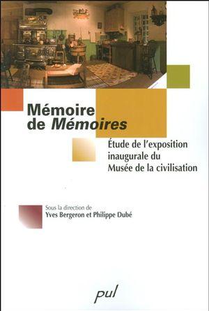 Mémoire de Mémoires