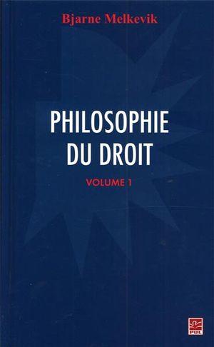 Philosophie du droit  1