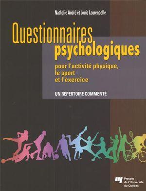 Questionnaires psychologiques pour l'activité physique...