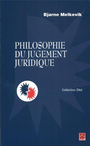 Philosophie du jugement juridique