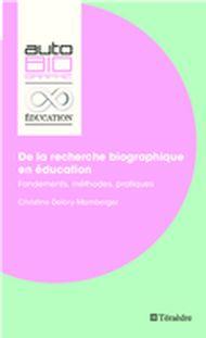 De la recherche biographique en éducation