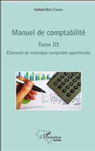 Manuel de comptabilité Tome III