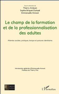 CHAMP DE LA FORMATION ET DE LA PROFESSIONNALISATION DES (LE)