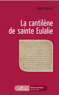 La cantilène de sainte Eulalie