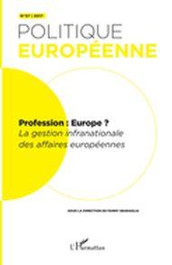 Profession : Europe?