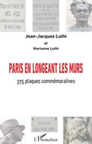 Paris en longeant les murs