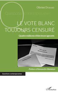 vote blanc toujours censuré (Le)