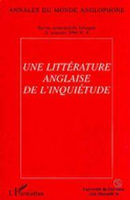 Annales du monde anglophone no. 8