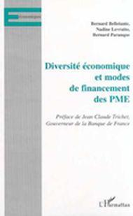 DIVERSITÉ ÉCONOMIQUE ET MODES DE FINANCEMENT DES PME