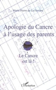 Apologie du cancre à l'usage  des parents