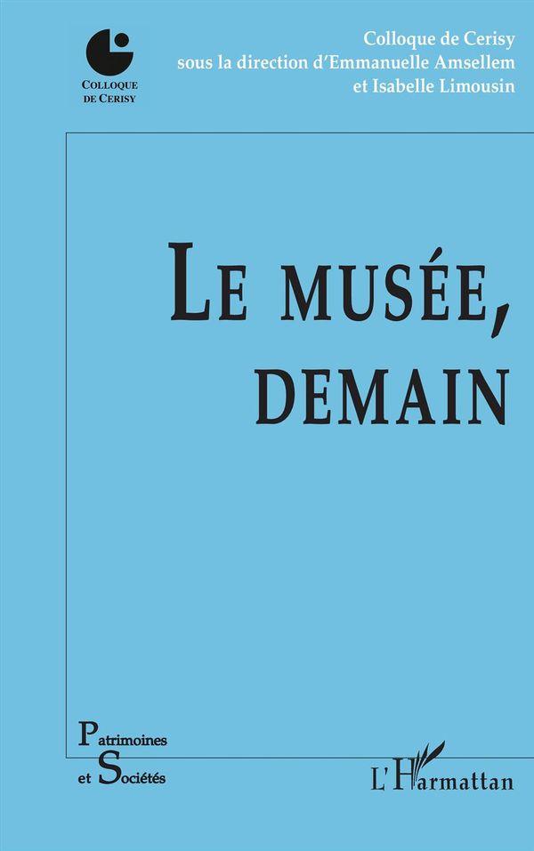Le musée, demain