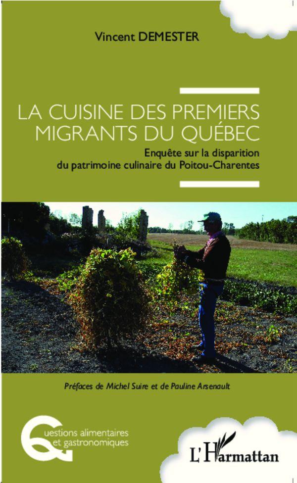 Cuisine des premiers migrants du Québec
