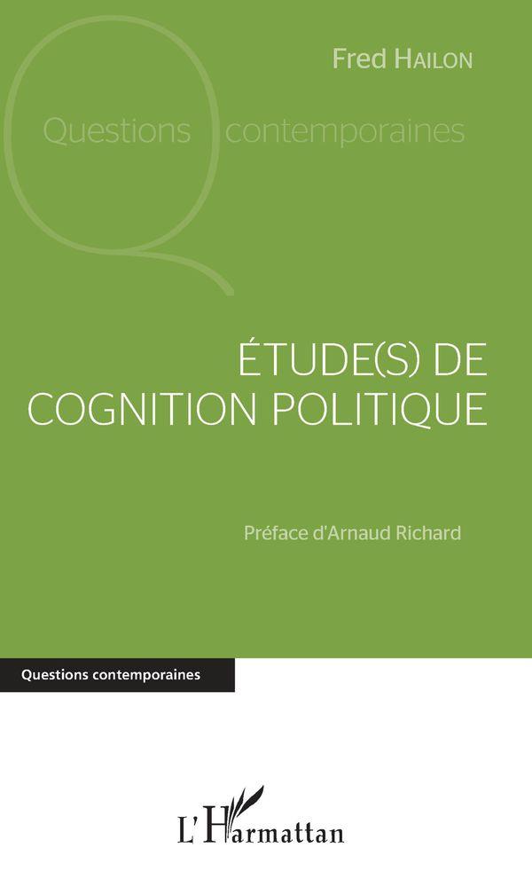 Étude(s) de cognition politique