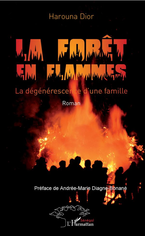 La forêt en flammes